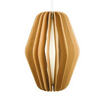 lampe suspension contemporaine (bois) 222 BIG by Autoban DE LA ESPADA