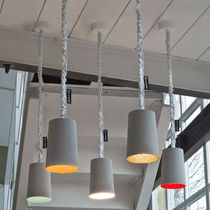 lampe suspension design Paint Cemento in-es artdesign
