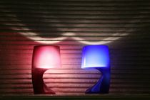 lampe de table design (verre soufflé) PLI Illuminati Lighting srl
