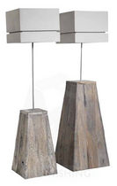lampe sur pied contemporaine en bois DUKDALF Pmpfurnishing