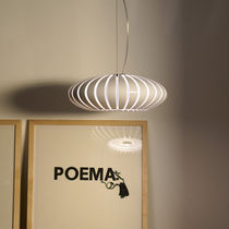 lampe suspension design en polycarbonate MARANGA by Christophe Mathieu Marset Iluminacion