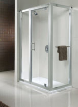 paroi de douche pivotante Geo6 In-Line Twyford Bathrooms
