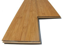 parquet en bois massif : bambou CROSS HORIZONTAL AMBRE CYR DISTRIBUTION