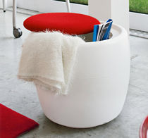 pouf contemporain avec rangement CANDY by Kazuyo Komoda Calligaris Italian home design since 1923
