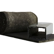rouleau isolant thermo-acoustique en laine de verre (pour conduits CVC) QUIETR® TEXTILE DUCT LINER Owens Corning Insulation