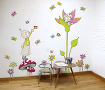 sticker mural pour enfant (mixte) Jules et Violettes ACTE DECO