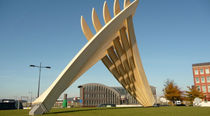 structure en bois INSPIRATIONAL ACCOYA FINGERS SCULPTURE  Accsys Technologies