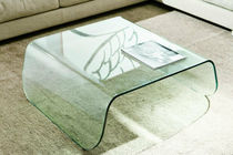 table basse contemporaine en verre TAVOLINO BELLAGIO BERTO SALOTTI
