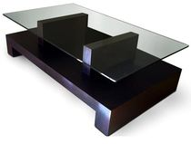 table basse contemporaine en verre ATRIA GONZALO DE SALAS