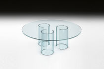 table basse contemporaine en verre LUXOR TAVOLINO by Rodolfo Dordoni FIAM ITALIA