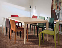 table contemporaine en bois massif ILVOLO ALIAS