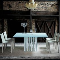 table contemporaine en cristal 475 BOBOLI by Rodolfo Dordoni Cassina