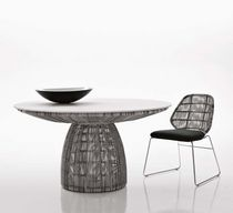 table ronde de jardin design CRINOLINE by Patricia Urquiola B&amp;B Italia