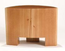 tabouret contemporain en bois massif  Peter Hook
