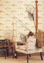 tissu d'ameublement en coton EUROPEAN FISH Lewis & Wood