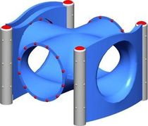 tunnel pour aire de jeux MEC116 BigToys