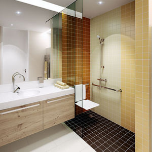 carrelage de salle de bain - tous les fabricants de l'architecture ... - Carrelage Salle De Bains Design
