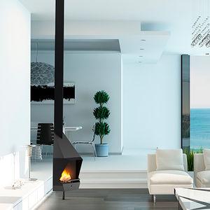 cheminee d epoque dans intérieur design