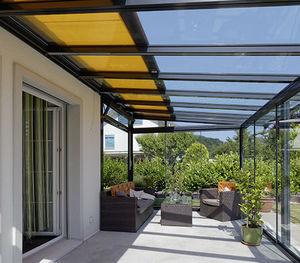 Auvent Pour Terrasse / En Verre / En Aluminium