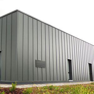 Bardage aluminium vertical
