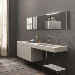 Meuble vasque contemporain - Tous les fabricants de l\'architecture ...