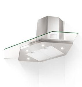 hotte de cuisine dangle avec clairage intgr