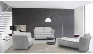 canap modulable en arc de cercle contemporain en cuir galaxy combi nieri. Black Bedroom Furniture Sets. Home Design Ideas