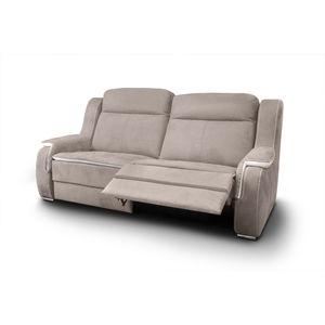canap d 39 angle contemporain en cuir 3 places. Black Bedroom Furniture Sets. Home Design Ideas