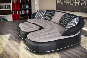 canap modulable en arc de cercle contemporain en. Black Bedroom Furniture Sets. Home Design Ideas