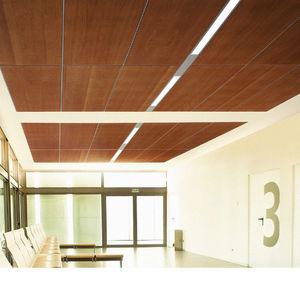 Faux-plafond en bois - Tous les fabricants de l\'architecture et du ...
