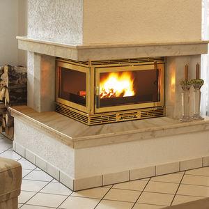 cheminées feu de bois insert