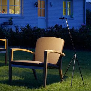 Lampe sur pied / contemporaine / en laiton / de jardin