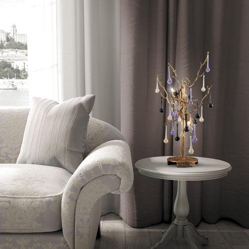 Lampe de table / classique / en verre / en bronze BIJOUT 6027 Serip Organic Lighting