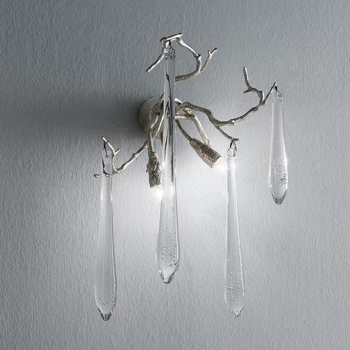 Applique murale classique / en verre / en bronze / halogène AP1418/2 Serip Organic Lighting