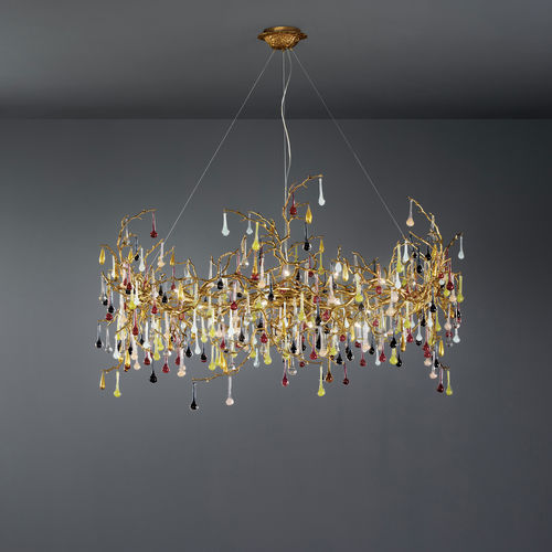 Lampe suspension / design original / en métal / en verre BIJOUT CT3315/25 Serip Organic Lighting