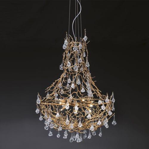 lustre design original / en verre / en métal / à LED