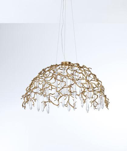 Lampe suspension / contemporaine / en métal / en verre AQUA : CT3345/1 Serip Organic Lighting