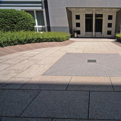 bordure de jardin / en pierre reconstituée / linéaire