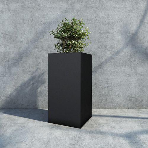 pot de jardin en fer / carré