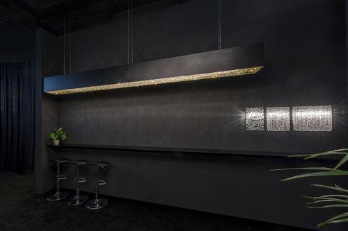 Lustre contemporain / en cristal / fait main DEEP SKY Manooi