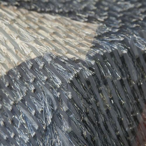 tissu pour rideaux / à motif / baroque / en polyester