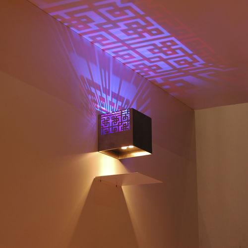 applique murale contemporaine / d'extérieur / en métal / à LED