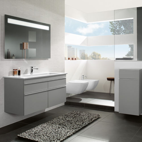 salle de bain contemporaine / en céramique