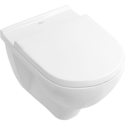 toilettes suspendue / en porcelaine / sans bride