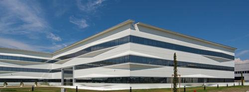 bâtiment préfabriqué / en béton / pour établissement public / contemporain