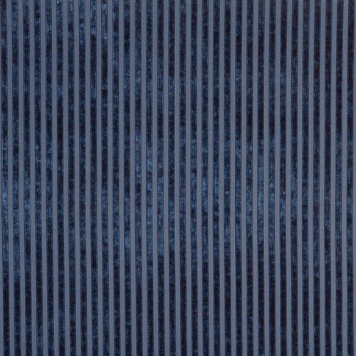 tissu d'ameublement / pour rideaux / à rayures / en polyester