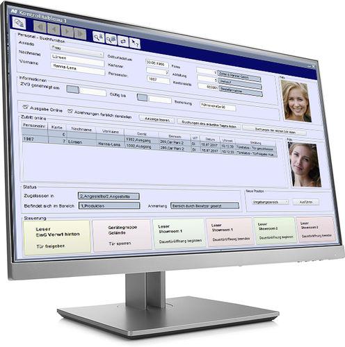 logiciel de gestion de contrôle d'accès et de sécurité / pour système RFID