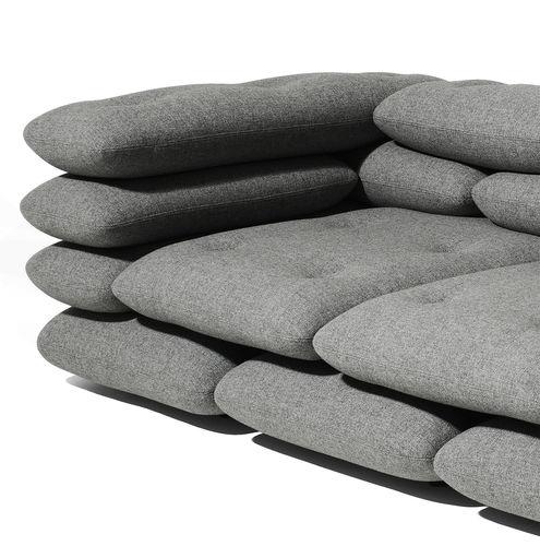 canapé design original / en tissu / 2 places / 3 places
