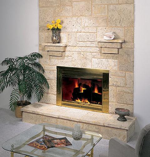 Parement en béton / intérieur / texturé / décoratif CORAL STONE shaw brick