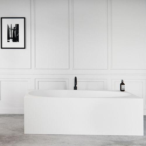 baignoire à poser / en Solid Surface / en résine acrylique